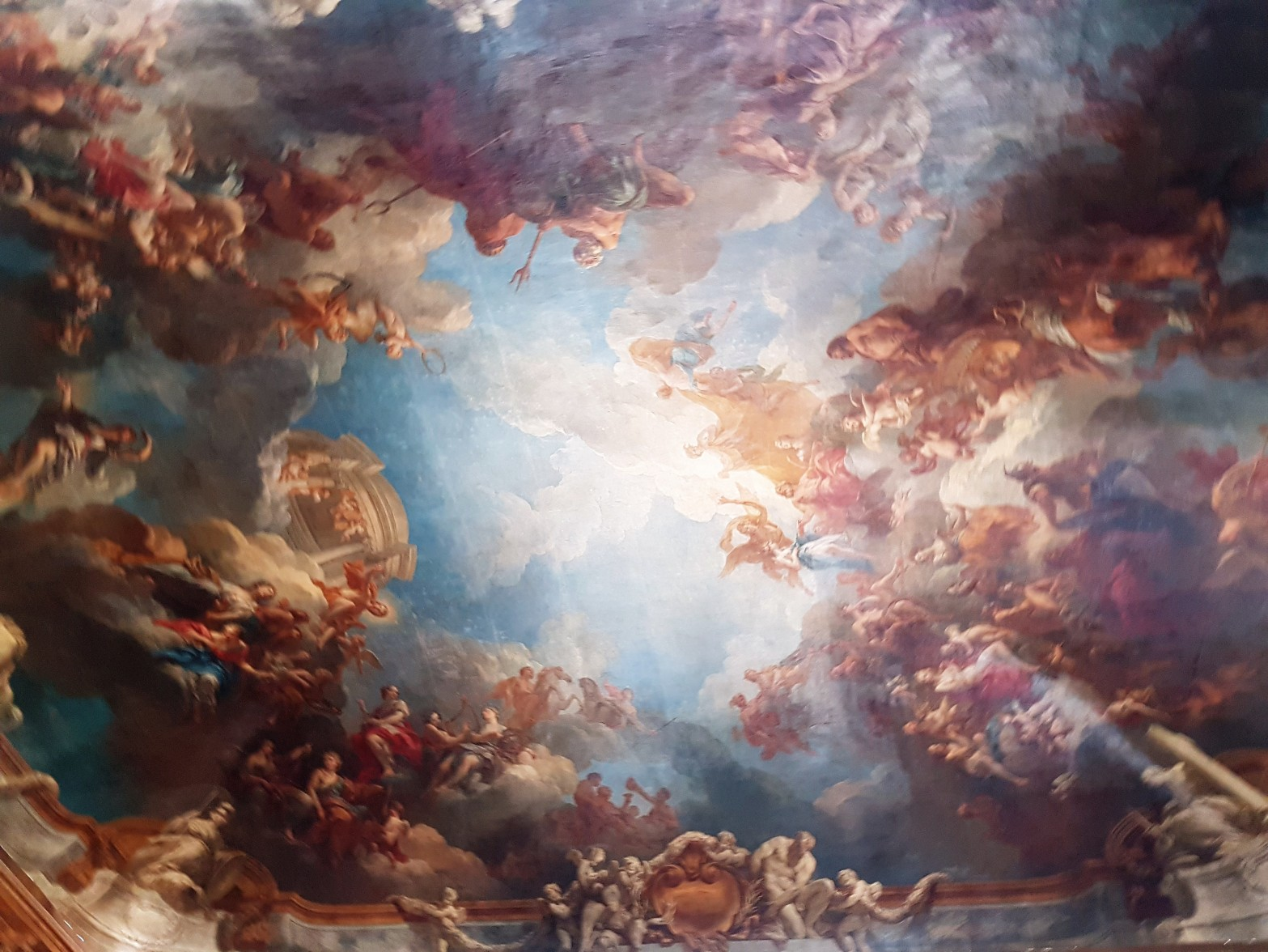 Versailles, France, Paris, Murals